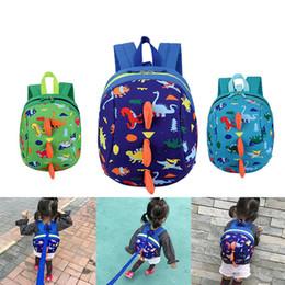 $enCountryForm.capitalKeyWord NZ - Kids Safety Harness Backpack Leash Child Toddler Anti-lost Dinosaur Backpack Cartoon bag Arlo Kindergarten Backpacks Free Ship B11