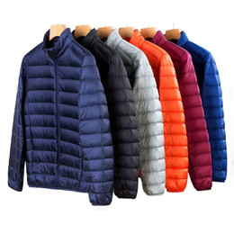 $enCountryForm.capitalKeyWord Australia - 2019 Spring New 50% White Duck Down Jacket Men Winter Warm Ultralight Male Outdoors Casual down jacket Coat Man Youth Fitted 3XL