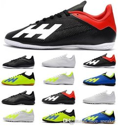 8225c52bcd8 2019 New Mens Messi X Tango 18.3 IC TF Soccer Shoes Chaussures De Football  Boots X 18 Soccer Cleats High Quality World Cup Football Shoes