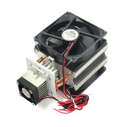 12v radiator fan 2020 - 12V 6A DIY Electronic Semiconductor Refrigerator Radiator Cooling Equipment