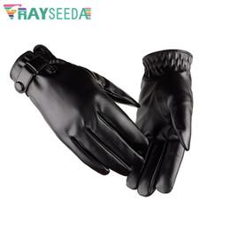 $enCountryForm.capitalKeyWord Australia - Rayseeda High Quality PU Leather Skiing Gloves Windproof Waterproof Winter Snow Gloves Outdoor Cycling Warm For Men Women