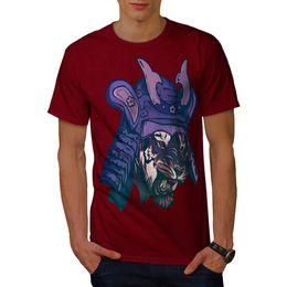 Women tiger design shirt online shopping - Wellcoda Samurai Tiger Head Mens T shirt Warrior Graphic Design Printed Tee Men Women Unisex Fashion tshirt