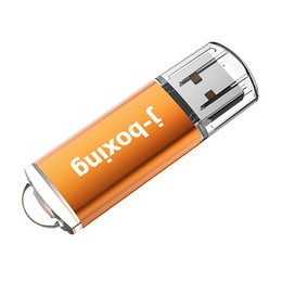 usb flash drives Australia - J-boxing Orange Rectangle 32GB USB Flash Drive Enough Memory Sticks 32gb usb 2.0 Flash Pen Drive for PC Laptop Macbook Tablet Thumb Storage