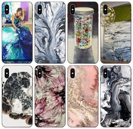 samsung prime soft case NZ - [TongTrade] Marble Painting Case For iPhone 11 Pro X XS Max 8 7 6s 5 Samsung J5 J7 Prime Pro Huawei Y3II Y5II Y6II Xiaomi 8 SE Soft TPU Case
