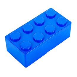 $enCountryForm.capitalKeyWord Australia - 1pc Building Block Shapes Plastic Saving Space Storage Box Superimposed Desktop Handy Office House Keeping