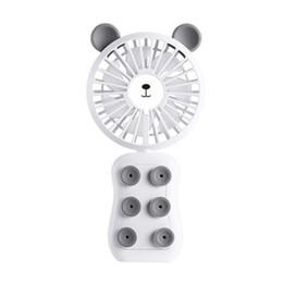 Горячие продажи Портативный Мобильный Телефон USB Аккумуляторная Вентилятор Портативный Присоски Мобильный Телефон Кронштейн Вентилятор со Светодиодной подсветкой