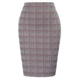 $enCountryForm.capitalKeyWord UK - Plus Size Office Ladies Skirt High Waist Swallow Gird Pattern Hips-wrapped Bodycon Skirt Classic Fashion Mini Pencil Skirt MX190709
