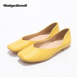 Car Lights Australia - Size 33 34 Small Size Woman Summer Flats Soft Light Weight Ladies Driving Car Shoes Plus 41 42 43 44 45