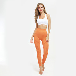 Hot yoga pants workout online shopping - New Hot Sale Women s High Waist Active Energy Yoga Pant Leggings Slimming Seamless Compression Fit Pants Workout Tights