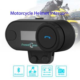 $enCountryForm.capitalKeyWord Australia - TCOM-SC Wireless Bluetooth Motorcycle Interphone Headset 800 Meters Range Helmet Intercom LCD Screen with FM Radio