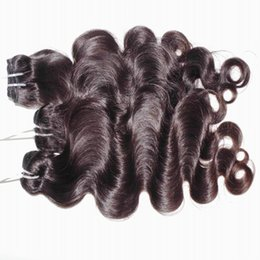 clearance virgin hair Australia - Magic Peerless 8A Temple Indian Body Wave Virgin Hair 4pcs lot raw Bundles Natural Color Weave Clearance Sale