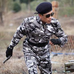 Camouflage Combat suit online shopping - 2018 Spring Autumn special forces combat uniforms Camouflage suit Uniform High Quality Camouflage Sets Jacket Pants