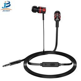 Iphone androId mobIle online shopping - PTM T2 sports headphone in ear stereo cable control with microphone earplugs ios Android universal mobile phone headset