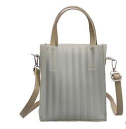 $enCountryForm.capitalKeyWord UK - 2019 new bag women's fashion stripe trend one-shoulder bun mother bun two-piece set hot style