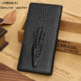 $enCountryForm.capitalKeyWord NZ - Factory wholesale men handbag first layer leather crocodile wallet personality leather long wallet business leather wallet trend crocodile c