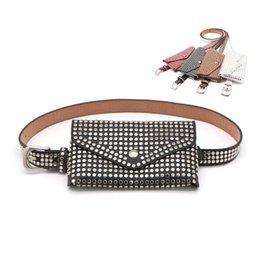 $enCountryForm.capitalKeyWord UK - good quality Designer Fanny Pack Fashion Rivets Waist Packs Small Women Waist Bag Leather Money Phone Pouch Punk Belt Bags Purse