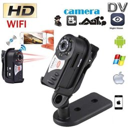 $enCountryForm.capitalKeyWord Australia - Wifi mini DV DVR Q7 Wireless IP Camcorder Portable Infrared Night Vision small Camera Digital Video Recorder support Motion Detection