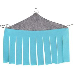 $enCountryForm.capitalKeyWord UK - Pet Tent Small Hideout Hideaway Hammock Hanging Bed Tassel Corner Nest For Hedgehog Guinea Pig Hamster Ferret Chinchilla Rat S