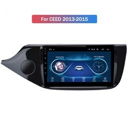 full hd car dvd UK - 9 Inch HD Full Touch Android 10 Car Dvd Player for Kia CEED 2013-2015 Multimedia Gps Navigation System