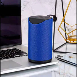 portable flash drive audio player Australia - Wireless bluetooth stereo Portable plug-in card radio usb flash drive mini speaker External release player small gu