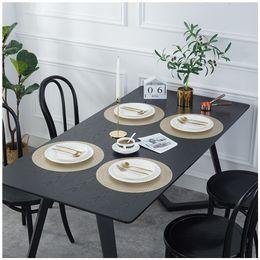 $enCountryForm.capitalKeyWord Australia - Wheat Spikes Flowers Table Mat Hotel Restaurant Prevent Scalding Heat Insulation Placemat Circular White Steak Tray Mats 3 27bc L1
