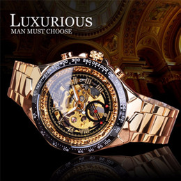 $enCountryForm.capitalKeyWord Australia - Forsining Golden Racing Sport Wristwatch Silver Stainless Steel Skeleton Open Work Design Top Brand Luxury Men Automatic Watch SLZe137