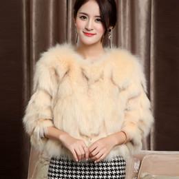 $enCountryForm.capitalKeyWord Australia - Women Warm Real Fox Fur Coat Short Slim Winter Genuine Fur Jacket Fashion Outwear Luxury Natural Fox Coat for Girls A084