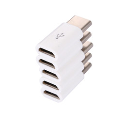 $enCountryForm.capitalKeyWord UK - Mobile Phone Accessories Mobile Phone Adapters Converters 50PCS LOT 3.1 Type C Male to Micro USB Female Adapter Converter Connector USB-C