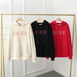 computer embroidery designs Australia - New Fashion Women men Hoodies fleece Jacket Students Sweatshirts pullover Luxury design clothes Unisex Casual hooded warm coat