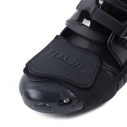 $enCountryForm.capitalKeyWord Australia - CHCYCLE Motorcycle Protective shift Pad Motocross Men Boots Shoe Protection Gear for Riding rubber lever Racing Brake Cover