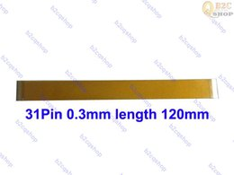 $enCountryForm.capitalKeyWord Australia - 31PIN 120mm 0.3mm pitch FFC FPC cable ribbon LVDS cable MIPI LCD