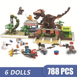 $enCountryForm.capitalKeyWord Australia - 788PCS Small Building Blocks Compatible with Legoe Game PUBG Dino Park Toys for children girls boys Gift DIY