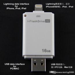 $enCountryForm.capitalKeyWord Australia - Design Real Capacity usb NEW High quality USB flash drive 16GB~64GB i-flash drive HD USB memory