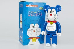toys gif NZ - New 28CM 400% Bearbrick Evade Doraemon figures Toy For Collectors Be@rbrick Art Work model decorations kids gif
