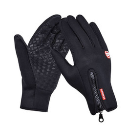 Chinese  Touch Screen Windproof Outdoor Sport Gloves Men Women Winter Running Gloves Outdoor Sport Gloves Warm guantes Running Luvas manufacturers
