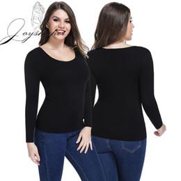 6571c026b3a5 Joyshaper Scoop Neck Thermal Top Base Shirt Thermal Underwear for Women  Fleece Lined Long Sleeve Base Layer Shirt Body Shaper