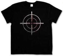 $enCountryForm.capitalKeyWord Australia - Short Sleeve T Shirt Bloody Crosshairs Sniper T Shirt Call Of Crosshair Duty Gun Ego Shooter Wholesale Discount