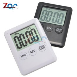 $enCountryForm.capitalKeyWord Australia - Large LCD Digital Kitchen Cooking Timer Count-Down Up Clock Loud Alarm Magnetic ,black or white