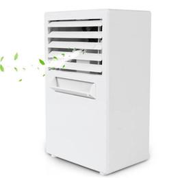 $enCountryForm.capitalKeyWord Australia - Mini Portable Air Conditioner Table Desk Small Home Office Bladeless Fan Humidifier Quiet Personal Moisturizing Air Cooler fan