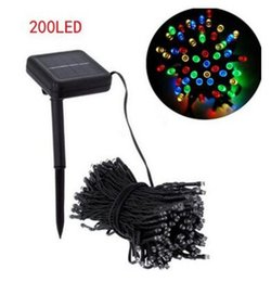 $enCountryForm.capitalKeyWord UK - Solar Lamps LED String Lights 50 100 200 LEDS Outdoor Fairy Holiday Christmas Party Solar Lawn Garden Lights Waterproof