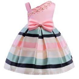 $enCountryForm.capitalKeyWord Australia - Hot Sell Party Dress Toddler Children Girls Princess Dress Sleeveless Tutu Kids Baby Girl Flower Dress Top Quality Vestidos MX190724
