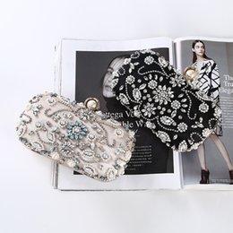 $enCountryForm.capitalKeyWord Australia - quality package with diamonds handmade beaded clutch bag Women Party handbag