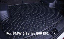 El yapımı Araba Arka Kargo Boot Trunk liner Mat Pad BMW 5 Serisi E60 E61 2005-2009 Için indirimde