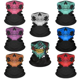 military skull face mask Australia - E-BAIHUI New Outdoor Tactical Archey Skull Face Mask Seamless Military Hunting Head Scarf Face Masks Bandana Skull Scarves L115