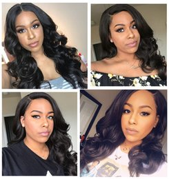 large human hair glueless wig Australia - Glueless Full Lace Wig With Baby Hair Beaudiva Full Lace Human Hair Brazilian Body Wave Lace Front Human Hair Wigs For Black Women