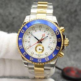 Famous Luxury Men Watch Automatic Mechanical Australia - Rol ix YACHT AAA MASTER 2 automatic mechanical watch 44mm luxury brand watch men day military men sport watches famous brand logo 319