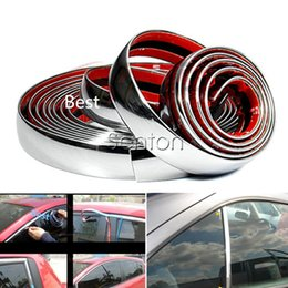 $enCountryForm.capitalKeyWord Australia - Car Sticker Chrome Decor Strip For Astra H J G Insignia Mokka Corsa D Vectra C Zafira Laguna Megane 2 3 Duster Clio