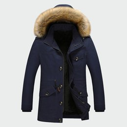 $enCountryForm.capitalKeyWord Australia - 2019 New Men Overcoats Mens Brand Clothing Winter Men's Thick Coats Warm Male Jackets Padded Casual Hooded Thermal Parka M-5XL