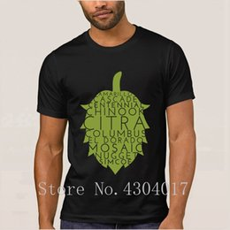 Hooded collar t sHirts online shopping - American Hops Craft Beer Tshirt Round Collar Custom Funny Men T Shirt Clothes Camisetas Big Size Xxxl Awesome Hiphop Tops