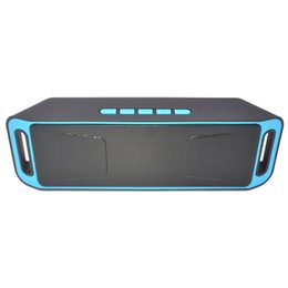 $enCountryForm.capitalKeyWord Australia - New Wireless Speaker SC208 with 4.0 Stereo Bluetooth Subwoofer Speakers TF card Radio Built-in Mic Dual Bass Sound Box